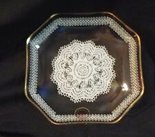 Made in Germany by Cc Crystal Clear lace Design Tray