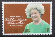 FALKLAND ISLANDS 1980 Queen Mother. Set of 1. Mint Never Hinged. SG383.