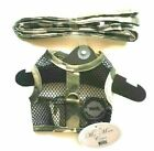 """Camo Dog Harness & Leash 19-21"""" Mesh Netted by Doggie Design 16-32 lbs"""