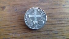 OLD STYLE  £1 COIN LONDON (RARE)