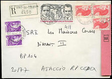 Francia 1982 cubierta registrada #c 32994