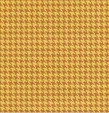 Klebefolie - Möbelfolie Hahnentritt Muster  gelb braun 45 cm x 200 cm Dekorfolie