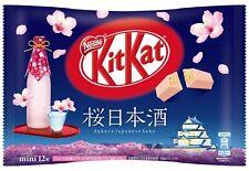 12Nestle Kitkat Kit kat Japan Sakura Sake NIHONSHU 1Bag (12pieces) Japanese F/S
