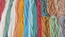 JOBLOT 16 Cuerdas (1152) 8 mm 16 Colores mezclados De perlas cuentas de cristal sólido al por mayor B1
