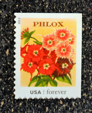 2013USA #4754 Forever Vintage Seed Packets - Philox Flower - Single Stamp  Mint