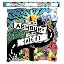 A429 - Haight Ashbury San Francisco Street  Sign Window Sticker Decal