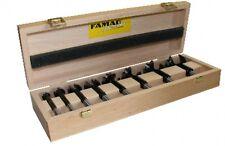 FAMAG Bormax prima Hartmetall-Forstnerbohrer 4-tlg Set D=35,40,45,50mm im Holzkasten