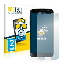 2x Samsung Galaxy S7 Display Schutz Folie Matt Entspiegelt