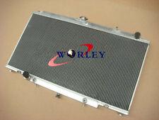 3 Row radiateur en aluminium Nissan GU PATROL Y61 TD 4.2L Automatic AT MT