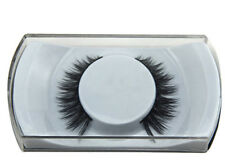 FALSE EYELASHES EYE LASH MINK WISPY DEMI LONG WISPIES CASE NATURAL CROSS THICK