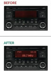 BRAND NEW SCREEN REPAIR SERVICE CAR STEREO RADIO CD PLAYER DAEWOO NISSAN QASHQAI