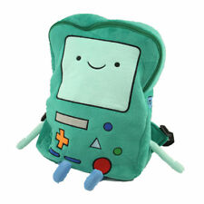 """Adventure Time BMO Beemo Plush Backpack Bag 15"""" Best Holiday Gift for Kids"""