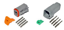Deutsch DT 4 Pin Connector Kit 16-20 GA Solid Contacts