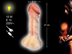 Die geile Lampe als großer Penis - 27cm