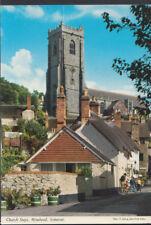 Somerset Postcard - Church Steps, Minehead     RR3441
