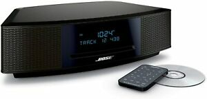 Bose Wave Music System IV CD MP3 Player Radio Alarm Clock BLACK ESPRESSO