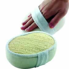 Exfoliating Loofah Bath Sponge Pads Pack Of 4 - Great For Exfoliating FREE SHPNG