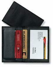 VICTORINOX Swiss Card Leder Etui NEU/OVP +Sichtfenster für SwissCard Karten etc