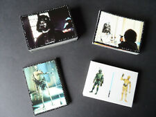 PANINI STAR WARS 1997 COMPLETE 216 STICKERS SET ONLY
