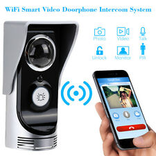 Smart HD WiFi Video Door Phone Intercome Alarm Monitor Doorbell Home Security