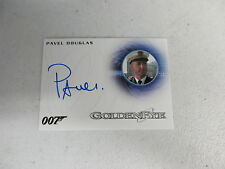2016 James Bond Classics Pavel Douglas as French Captain Autograph Card A281