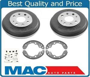 Fits 1999-2003 Mazda Protege (2) Brake Drums Brake Shoes and Springs