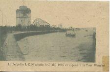 POSTCARD / CARTE POSTALE / GREECE GRECE LE ZEPPELIN LZ 95 ABATTU EN 1916