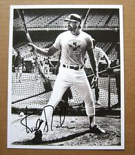 Detroit Tigers 1984 World Series Kirk Gibson Signed COPY Dodgers BP 8 x 10 photo
