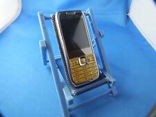 MINI Mobile Cellulare Phone e71 TV 3xsim oro con latine e tastiera russa