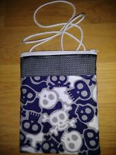Sugar Glider Bonding Pouch! (Blue Skulls! )