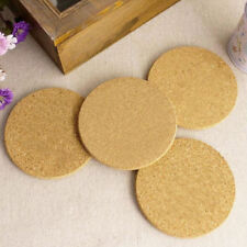 6pcs Cork Wood Drink Coaster Tea Coffee Cup Mat Pads Table Decor Tableware RI