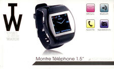 EXCEPTIONNEL : MONTRE LUXE & TELEPHONE & SMARTPHONE ANDROID 100% AUTONOME