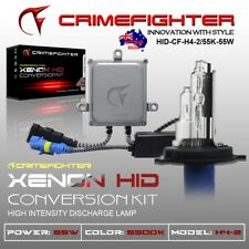 55W HID H4-2 5500K XENON Slim Ballast Conversion Kit HIGH BEAM