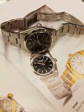 AUTHENTIC ROLEX OYSTER-DATE STAINLESS STEEL ORIGINAL OYSTER BAND BLACK DIAL DATE