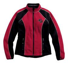 Harley-Davidson(R) Women's Scroll Skull Windproof Fleece Jacket, Red 98574-16VW