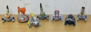 Set of 7 Dinotrux Reptool Rollers inc. Otto Wrenches, Tortool & Click Clack