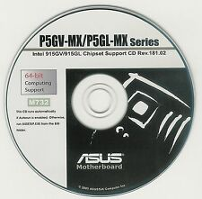 ASUS P5GV-MX  P5GL-MX  Motherboard Drivers Install  M732