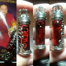 Thai amulet Occult Sorcery Takrud Nang Rad Extreme Maha Saney by Kruba Porn