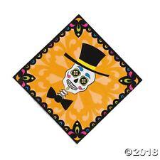 16 Halloween DAY OF THE DEAD Dia de Los Muertos SUGAR SKULL Napkins Party Decor