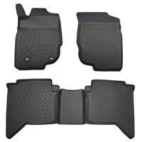OPPL Fußraumschalen 3-tig statt Gummimatte für Toyota Hilux N25/N2 2006- Pickup