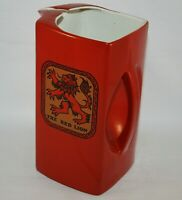 ART DECO CARLTON WARE THE RED LION PUB PITCHER AVERTISING