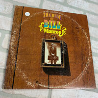 Bill Monroe The Best Of Bill Monroe LP Record Album Vinyl Bluegrass Mandolin