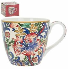 WILLIAM MORRIS GOLDEN LILY BREAKFAST CHINA TEA COFFEE MUG CUP NEW IN GIFT BOX