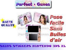 Skin sticker auto-collant vinyl Violetta n°2 pour console nintendo 3DS XL LL