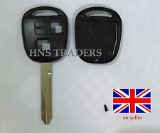 FOR TOYOTA HIACE YARIS COROLLA AVENSIS CAMRY 2 BTN T47 REMOTE KEY CASE +LOGO A52