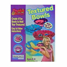 Makit & Bakit Textured Bowls - Children's Bowl Making Make it Bake it Kit