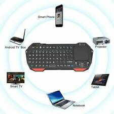 Mini Bluetooth Backlit Keyboard Touchpad Smart TV Projector Android iOS Windows