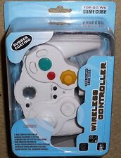 Nintendo Gamecube & Wii Wireless Controller Manette Control Pad Brand New! White