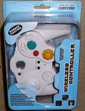 NINTENDO GAMECUBE & WII WIRELESS CONTROLLER GAMEPAD CONTROL PAD BRAND NEW! White