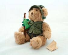 """Russ Berrie & Co """"MONTANA"""" Bears From The Past Collection - Fisherman Soft Plush"""